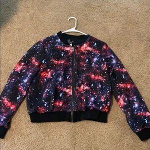 Hot Topic Galaxy Jacket